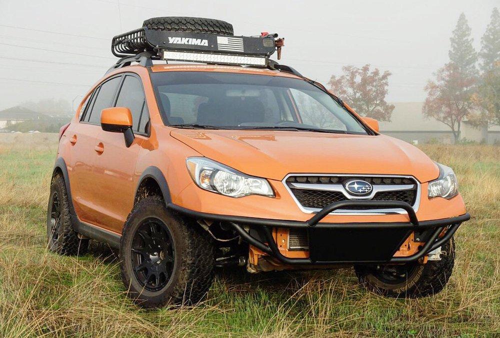 Subaru Off Road >> Subaru Off Road Custom Front Bumper Stellar Built 4x4